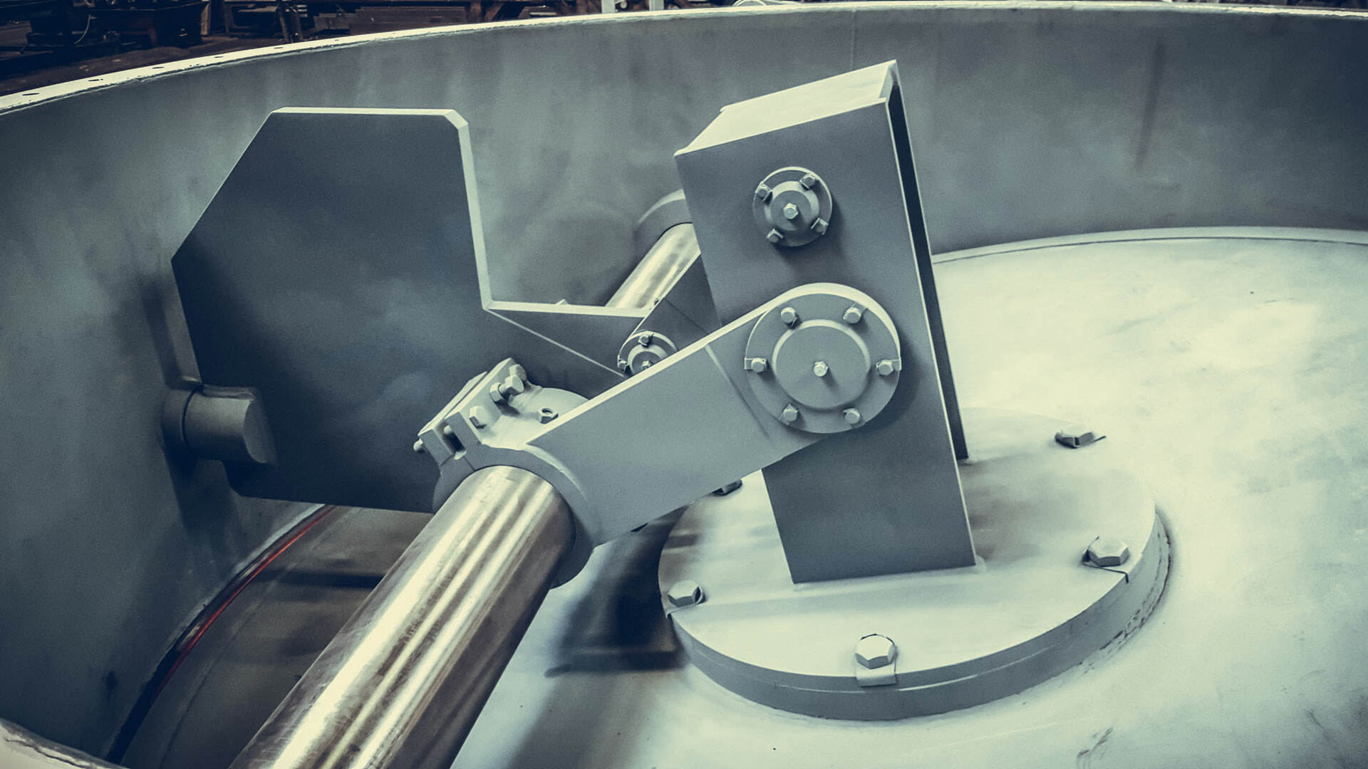 RBU Germany Prozessgasarmaturen Rauchgasarmaturen Lenkhebelklappe